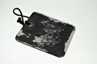 old black worn label