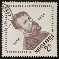 Michelangelo postage stamp
