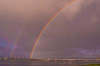 double rainbow, jetty