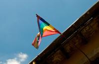 Gay Pride Flag Pole