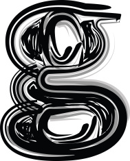 Freehand Typography Letter g