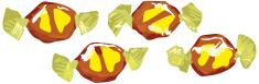 Banana Split Toffees