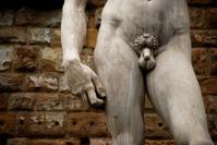 David's waistline