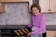 Grandma making cookies