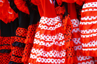 Traditional clothing for women in Sevilla