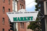 Shabby Market Sign