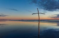 Stick Beach Cross