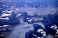 Massive Glacier from a Plane