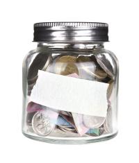 Blank Australian Money Jar