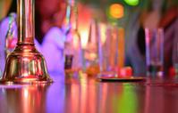 Bell over a counter bar