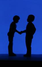 Handshake - Silhouette