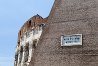 Colosseum, Coliseum, Rome, Italy.