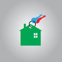 key home vector icon