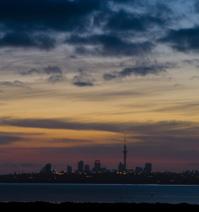Auckland at dawn