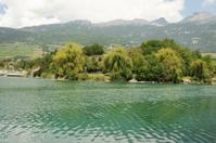 Le lac de Géronde