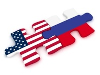 USA Russia Flag Puzzle