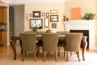 beautiful home interior dining room