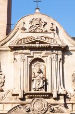 Detail of church in Sevilla