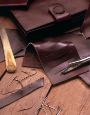 leather still life