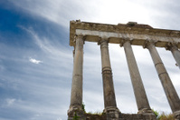 Ancient Temple of Saturn, Roman Forum