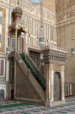Minbar - Sultan Hassan Mosque, Cairo, Egypt.