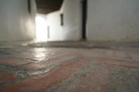 Closed passageway in Sevilla's ancient jewish quarter