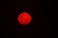 Red Moon - Natural Wonder of Color