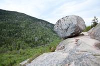 Bubble Rock at Acadia National Park, Maine