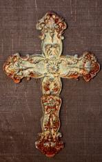 Religious: Ornate Rusty Cross
