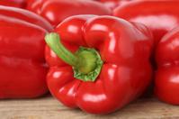 Red pepper or paprika vegetable
