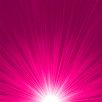 Star burst pink and white fire. EPS 8