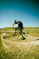 Mountain Biking Jump