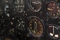 old cockpit instruments