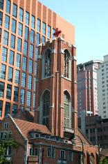 Catholic church in Shanghai, China