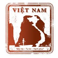 Vietnam Travel Stamp