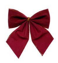 Dark Red Bow