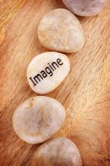 Imagine Stone - Word on Pebble