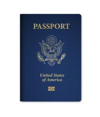 U.S. Passport with Microchip