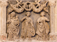 Vienna - relief from Church of the Teutonic Order