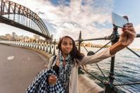 Selfie Aboriginal Woman