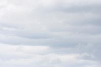 Light gray overcast sky