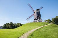 Bruges - Wind-mill Sint Janshuismolen