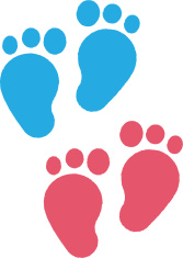 Baby Feet Children's Illustrations