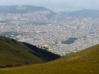 Quito from the top 2