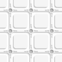 Geometric ornament on gray seamless