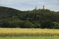 Die Ruine Brandenburg bei Lauchröden
