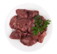 raw chicken liver