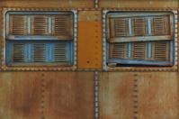 Steel Train Window