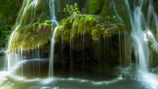 Bigar Waterfall, Parallel 45 in Romania