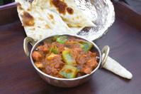 Traditional indian food Kadhai Chicken Tawa Mutton